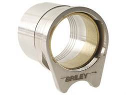 "Briley Oversized Spherical Barrel Bushing with .580"" Ring 1911 Government Stainless Steel"
