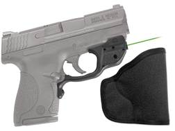 Crimson Trace Laserguard S&W M&P Shield Polymer Black