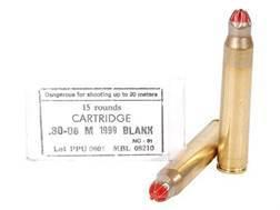 Prvi Partizan Ammunition 30-06 Springfield M-1999 (Standard Case) Blank Box of 15