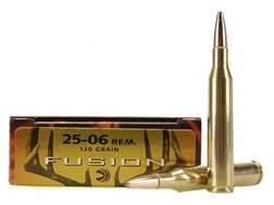 Federal Fusion Ammunition 25-06 Remington 120 Grain Spitzer Boat Tail Box of 20