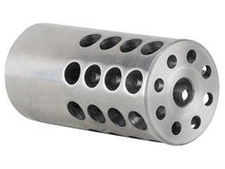 "Vais Muzzle Brake 1"" 270 Caliber 11/16""-24 Thread 1"" Outside Diameter x 2"" Length Stainless Steel"