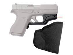Crimson Trace Laserguard Glock 42 Front Activation Overmolded Rubber Black with Pocket Holster
