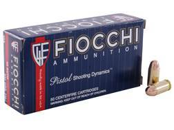 Fiocchi Shooting Dynamics Ammunition 45 ACP 230 Grain Full Metal Jacket Box of 50