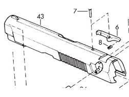 Browning Slide Browning BDA 380 Type 2