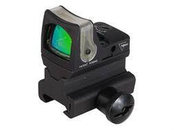 Trijicon RMR Reflex Red Dot Sight Dual-Illuminated 9 MOA Amber Dot Matte with RM34 Mount Matte
