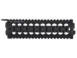 Midwest Industries 2-Piece Gen 2 Handguard Quad Rail AR-15 Mid Length Aluminum Black- Blemished