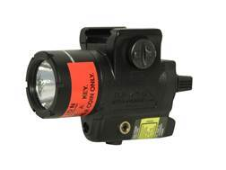 Streamlight TLR-4G Compact Weaponlight LED and Green Laser with 1 CR2 Battery Fits Glock Rails Polymer Matte