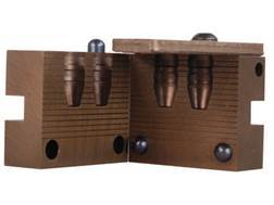 Saeco 2-Cavity Bullet Mold #413 41 Remington Magnum (411 Diameter) 210 Grain Truncated Cone Bevel Base