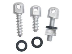 The Outdoor Connection Sling Swivel Stud 3 Piece Set Electroless Nickel Plated Steel