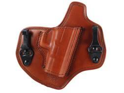 Bianchi Allusion Series 135 Suppression Tuckable Inside the Waistband Holster Right Hand Glock 17, 22, 31 Leather Tan