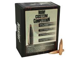 Nosler Custom Competition Bullets 30 Caliber (308 Diameter) 220 Grain Hollow Point Boat Tail Box of 100