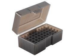 Frankford Arsenal Flip-Top Ammo Box #512 22 BR (Bench Rest), 6.8 Remington SPC, 7.62x39mm 50-Round Plastic