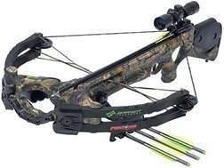 Barnett Predator CarbonLite 375 CRT Crossbow Package with 3x 32mm Illuminated Multi-Reticle Scope...