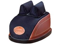 Edgewood Minigater Rear Shooting Rest Bag Standard with Regular Ears and Regular Stitch Width Leather and Nylon Unfilled