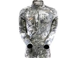 Sitka Gear Men's Core Heavyweight Zip Shirt Long Sleeve Polyester