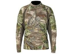Scent-Lok Men's Attack 1/4 Zip Shirt Long Sleeve Polyester Realtree Max-1 Camo Medium 38-40