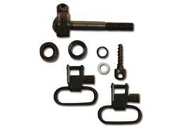 "GrovTec Sling Swivel Studs with 1"" Locking Swivels Set Remington 760 (1969-1981) & 7600 (1984 to present) Steel Black"