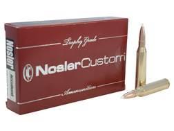 Nosler Trophy Grade Ammunition 338 Lapua Magnum 300 Grain AccuBond Box of 20