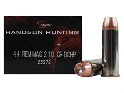Speer Gold Dot Ammunition 44 Remington Magnum 210 Grain Jacketed Hollow Point Box of 20