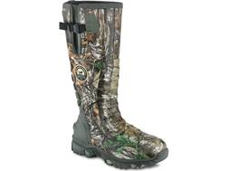 "Irish Setter Rutmaster 2.0 17"" Waterproof 800 Gram Insulated Hunting Boots Rubber Clad Neoprene Realtree Xtra Camo Men's"