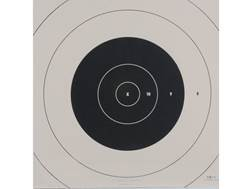 NRA Official High Power Rifle Targets Repair Center SR-1C 100 Yard Slow and Rapid Fire Paper Package of 100