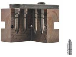 Lyman 2-Cavity Bullet Mold #311332 30 Caliber (309 Diameter) 180 Grain Pointed Tip Gas Check