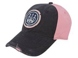 Beretta Washed Trident Cap Cotton Pink/Blue