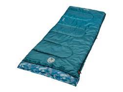 Coleman Boy's 45 Degree Sleeping Bag Polyester Blue