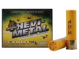 "Hevi-Shot Hevi-Metal Waterfowl Ammunition 20 Gauge 3"" 1 oz #4 Hevi-Metal Non-Toxic Shot"