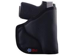 "DeSantis Nemesis Pocket Holster Ambidextrous S&W J-Frame 2.25"" Barrel Nylon Black"
