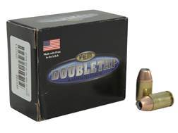 Doubletap Ammunition 45 GAP 185 Grain Nosler Jacketed Hollow Point Box of 20
