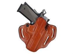 DeSantis Speed Scabbard Belt Holster Right Hand H&K VP9, VP40 Leather Tan