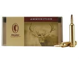 Nosler Custom Ammunition 257 Weatherby Magnum 110 Grain AccuBond Spitzer Box of 20
