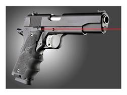 Hogue Lasergrip 1911 Government Rubber with Finger Grooves