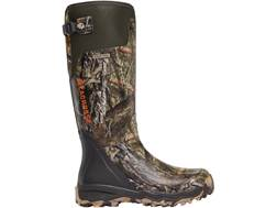 "LaCrosse Alphaburly Pro 18"" Waterproof Uninsulated Hunting Boots Rubber Clad Neoprene Realtree Xtra"