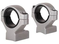 "Remington 2-Piece Scope Mounts with Integral 30mm Rings, 1"" Inserts Remington 700 Silver High"