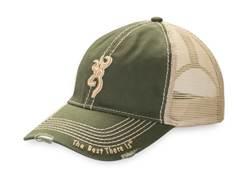 Browning Bozeman Logo Mesh Back Cap Polyester
