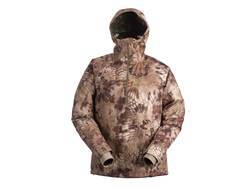Kryptek Men's Poseidon Lightweight Rain Jacket 1/2 Zip Polyester Highlander Camo Medium 39-41