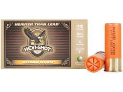 "Hevi-Shot Maximum Defense Ammunition 12 Gauge 2-3/4"" 1 oz T Shot Box of 5"