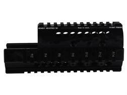 Midwest Industries 2-Piece Handguard Quad Rail Saiga AK-47 Aluminum Black- Blemished