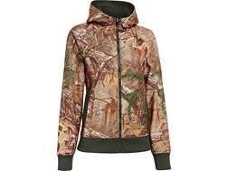Under Armour Women's Camo Full Zip Hooded Sweatshirt Polyester