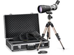 Leupold Kenai 2 HD Spotting Scope 25-60x 80mm Angled Body Gray/Black with Tripod, Hard and Soft Case