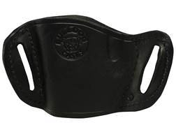 Bulldog Belt Slide Holster Fits Large Large Frame Autos Right Hand Leather Black