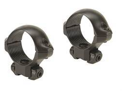 "Millett 1"" Angle-Loc Windage Adjustable Rings 3/8"" Grooved Receiver Matte Low"