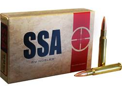 Silver State Armory Ammunition 30-06 Springfield 155 Grain Nosler Custom Competition Hollow Point Bo