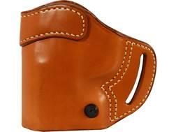 BLACKHAWK! Compact Askins Belt Holster Left Hand Glock 20, 21, 29, 30 Leather Brown