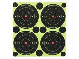 "Birchwood Casey Shoot-N-C Targets 3"" Bullseye Package of 48 with 120 Pasters"