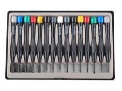 Steelex Mini Screwdriver Set 15-Piece Steel