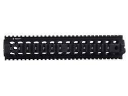 "Troy Industries 12"" MRF Drop-In Battle Rail 2-Piece Quad Rail Handguard AR-15 Rifle Length Black- Blemished"
