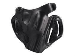 "DeSantis Thumb Break Scabbard Belt Holster Right Hand Smith & Wesson J-Frame 332, 340, 342, 442, 640 2.25""Leather Black"
